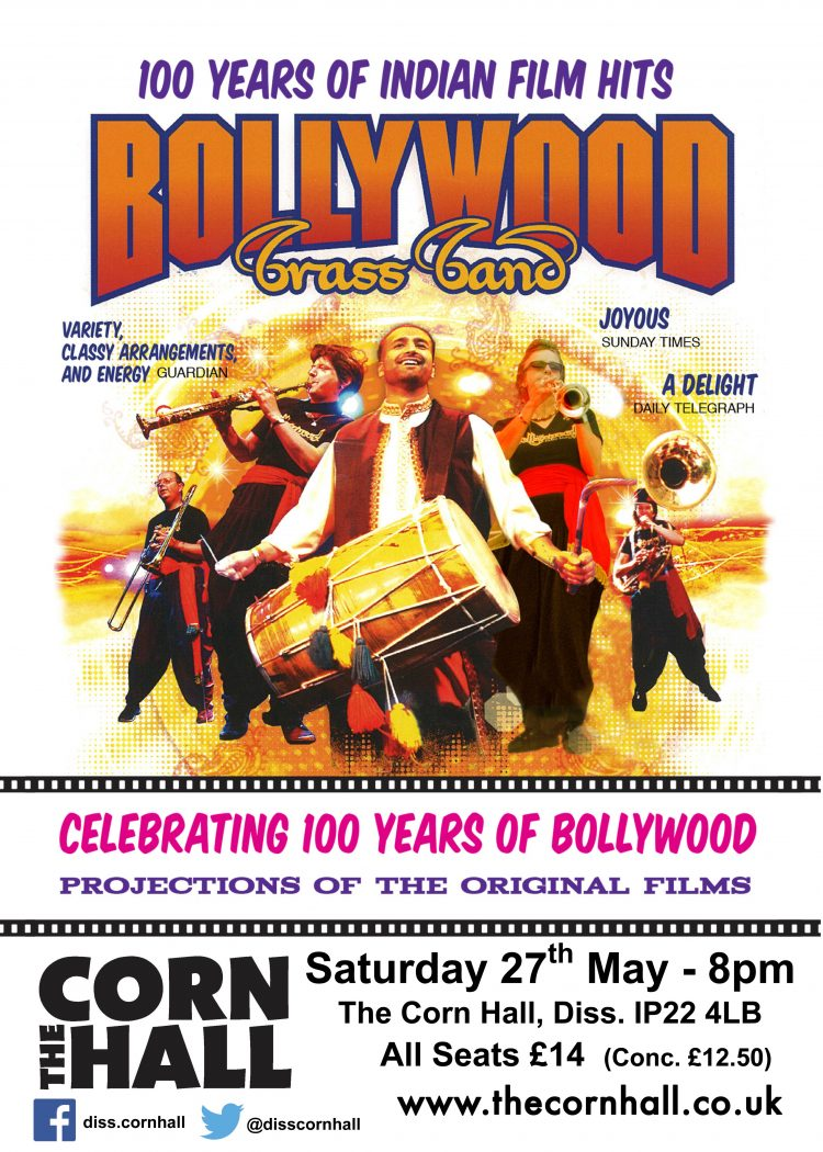 Poster for 100 years of Bollywood