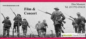 Diss Museum Film & Concert Poster