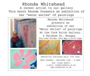 Rhonda Whitehead / Cork Brick Gallery Poster
