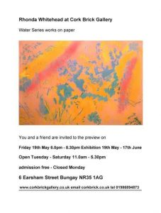 Rhonda Whitehead Exhibition Poster