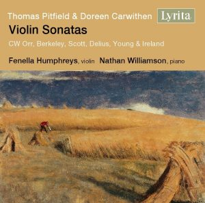 Nathan Williamson Violin Sonatas