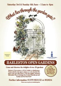 Harleston Open Garden's Poster