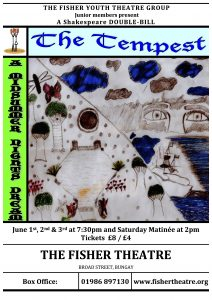 FISHER Theatre Youth Poster