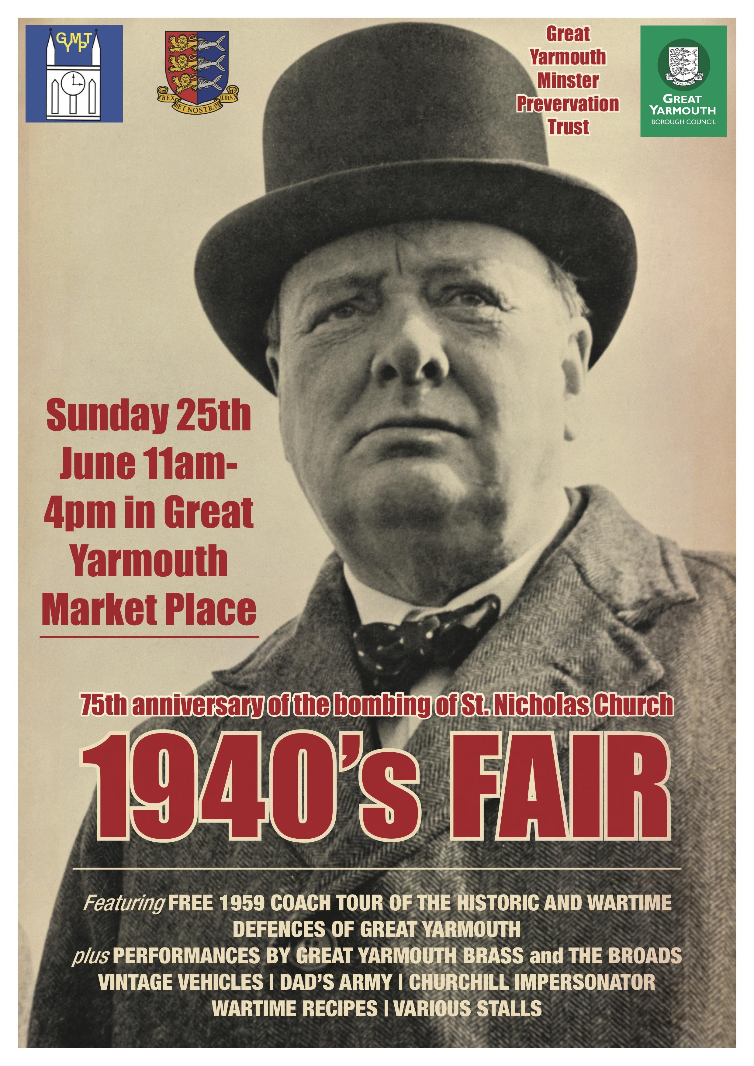 1940's fair poster