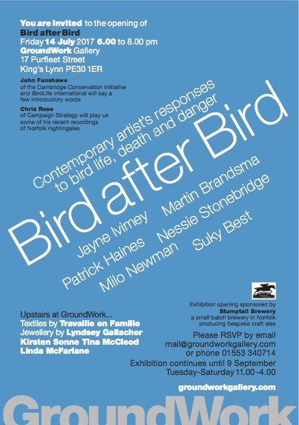 Bird by Bird Exhibition Poster