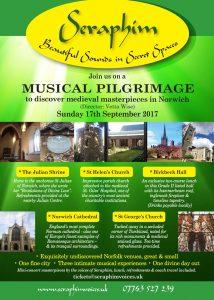 Norwich Seraphim Pilgrimage flyer front