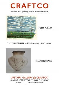 Moss Fuller and Helen Howard at Craftco