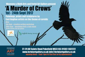 An art exhibition on the theme of crows inspires our annual writing competition.