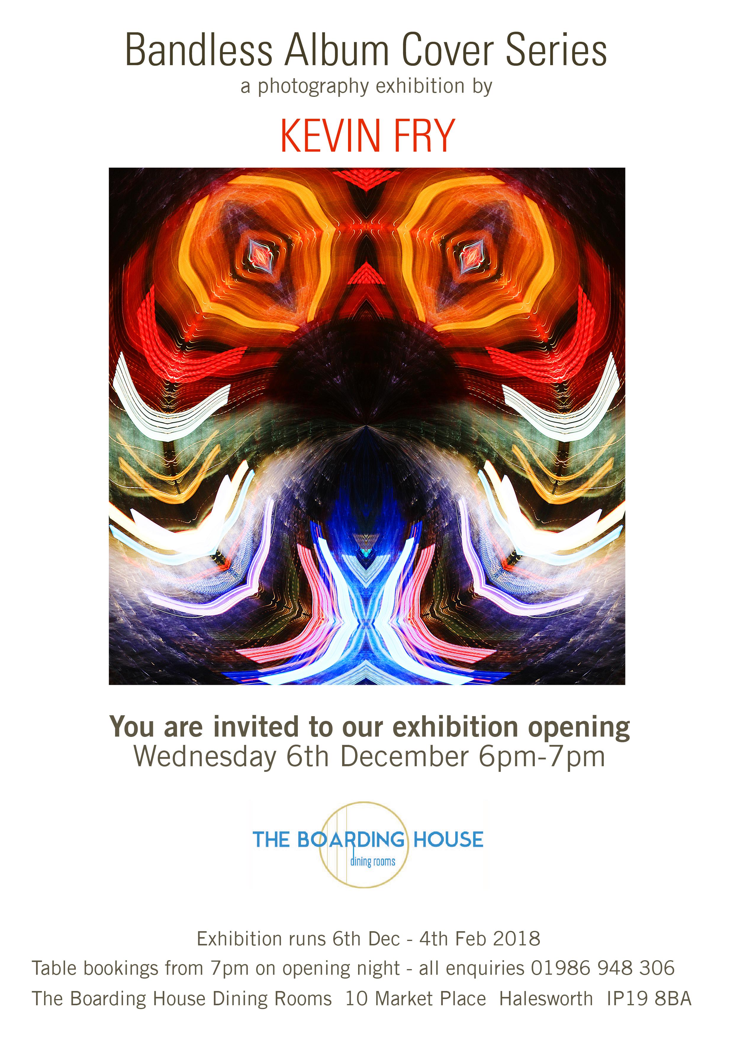 Kevin Exhibition Invite