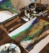 Natasha Day Art workshop