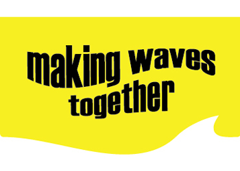 making waves together