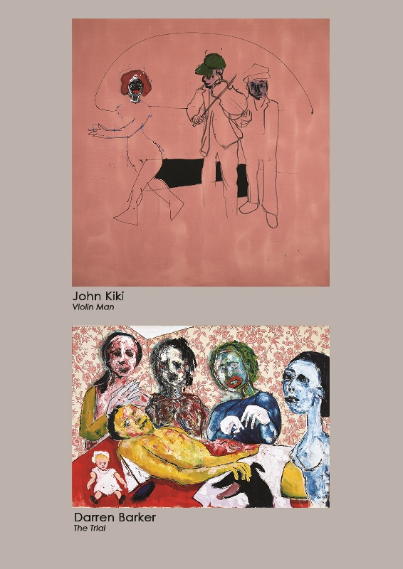 JOhn Kiki and Darren Barker poster