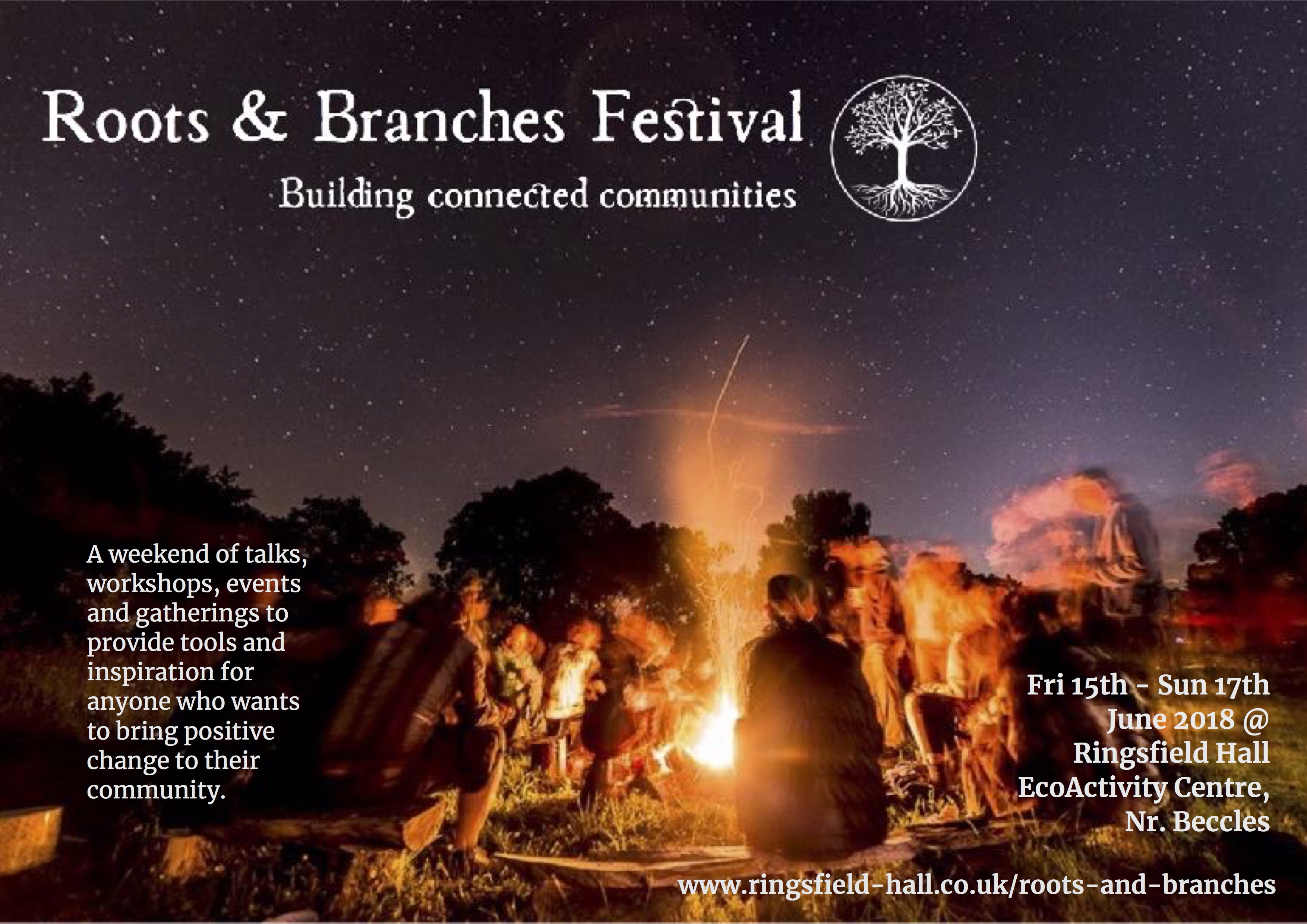 Roots & Branches Ringsfiled Hall Poster