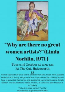 Whay are there no great women artists?
