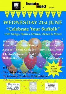 Celebrate Your Suffolk Poster