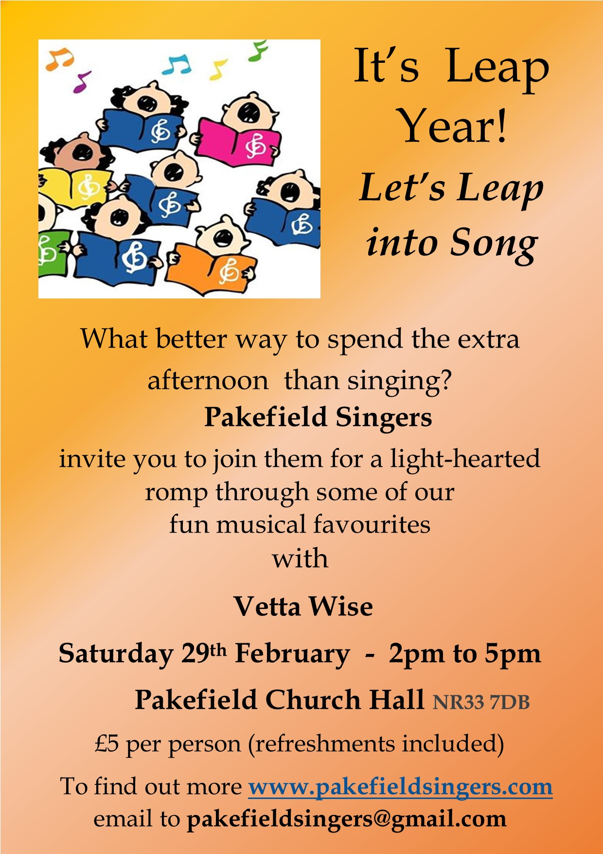 Leap into Song